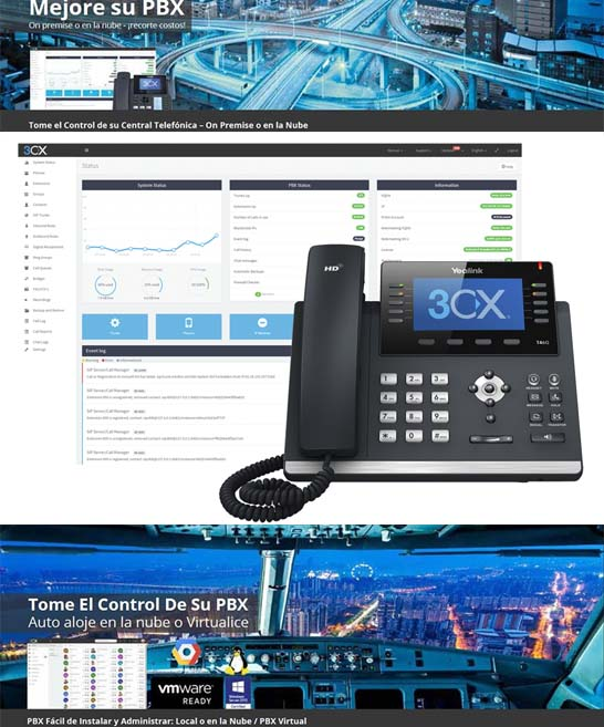 Centralita Virtual 3CX - Talk Telecom Solutions