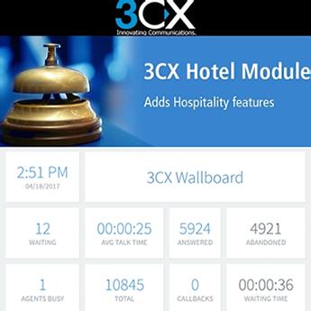 Centralita Virtual 3CX - Módulos para Hoteles y CallCenterTalk Telecom Solutions